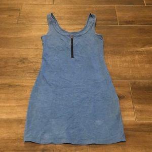 PINK Mini Dress blue